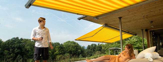 Sonnenschutz Mit Markisen Die Sonne Perfekt Genie En