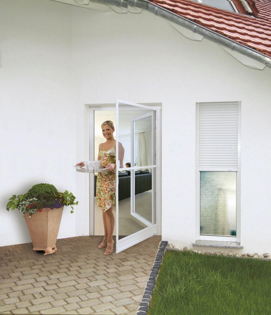 Insektenschutz Drehrahmen für Türen